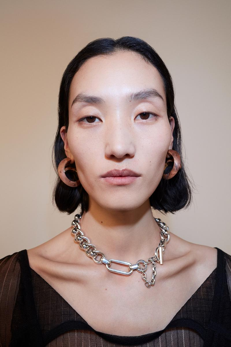 bottega veneta pre spring 2020 lookbook daniel lee jewelry earrings necklace
