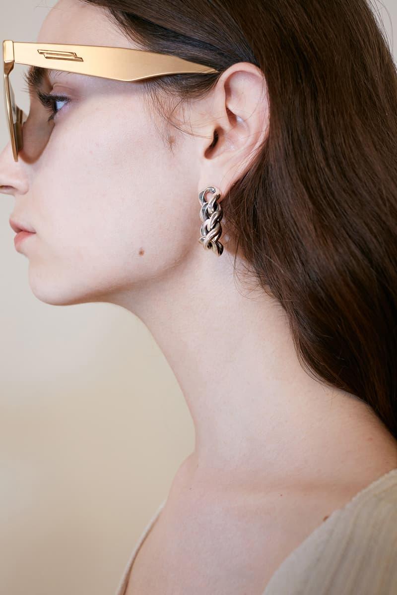bottega veneta pre spring 2020 lookbook daniel lee earring sunglasses