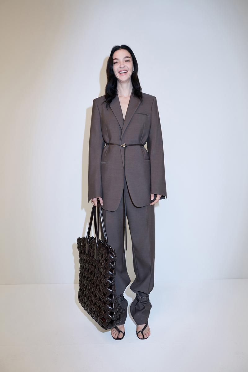 bottega veneta pre spring 2020 lookbook daniel lee leather bag footwear suit