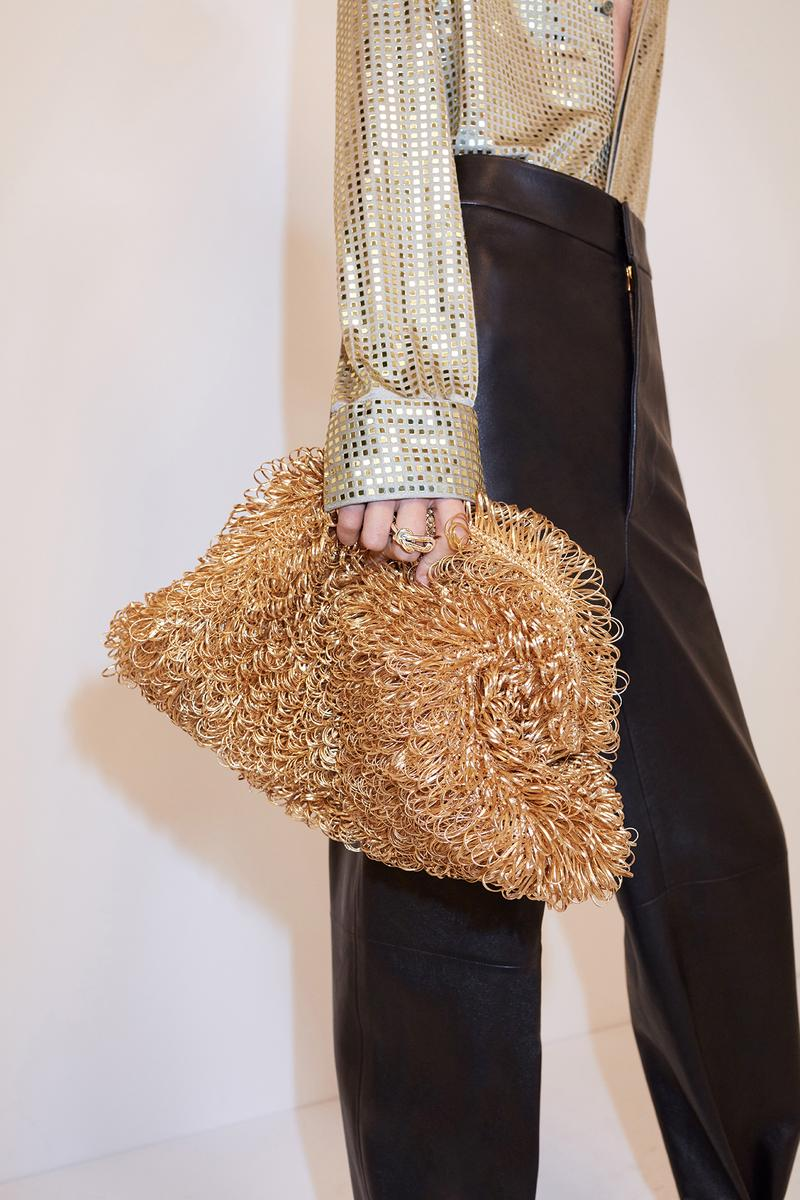 bottega veneta pre spring 2020 lookbook daniel lee clutch bag