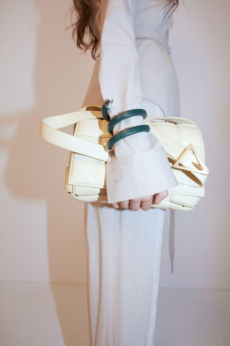 bottega veneta pre spring 2020 lookbook daniel lee leather bag