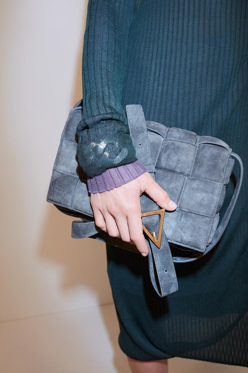 bottega veneta pre spring 2020 lookbook daniel lee leather bag