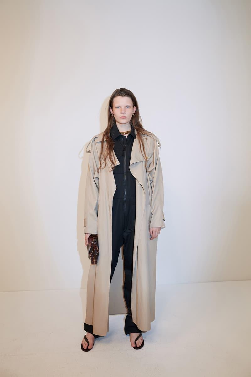 bottega veneta pre spring 2020 lookbook daniel lee leather bag footwear coat