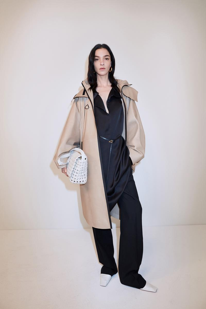 bottega veneta pre spring 2020 lookbook daniel lee leather bag footwear coat