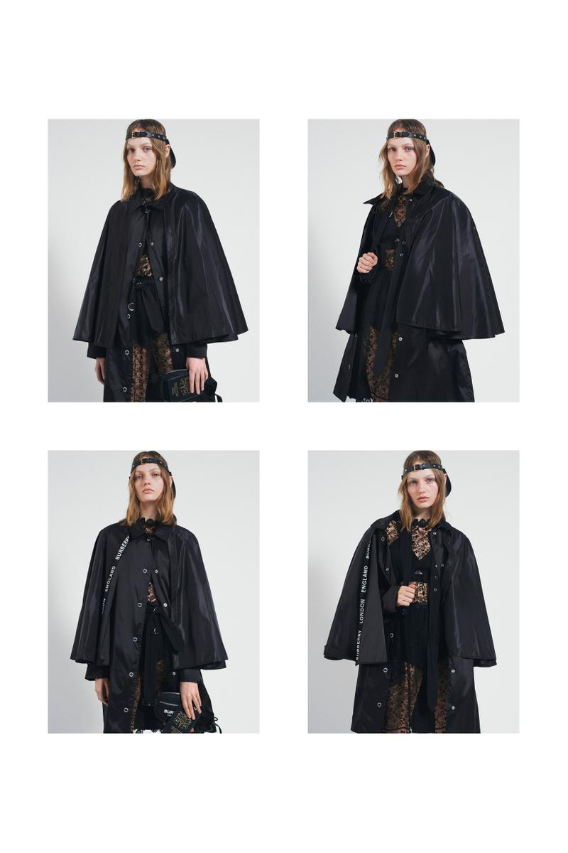 Burberry Fall Winter 2019 Pre Collection Campaign Jacket Black