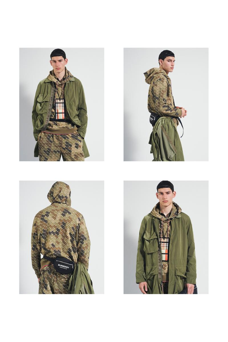 Burberry Fall Winter 2019 Pre Collection Campaign Jacket Green