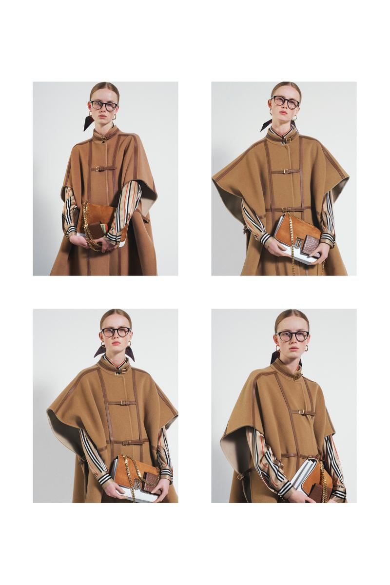 Burberry Fall Winter 2019 Pre Collection Campaign Jacket Scarf Tan