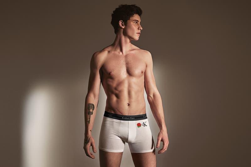 Shawn Mendes Calvin Klein #MYCALVINS CUSTOM Campaign