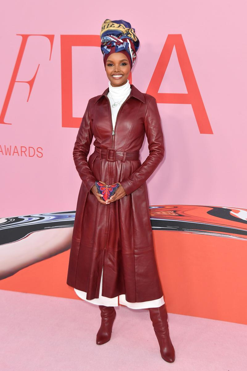 CFDA Fashion Awards 2019 Red Carpet Halima Aden Model