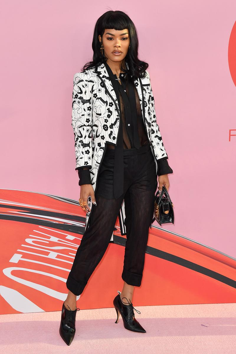 Teyana Taylor CFDA Fashion Awards 2019 Red Carpet Thome Browne