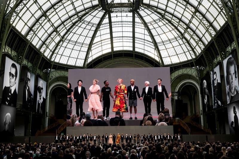 Chanel Karl Lagerfeld Tribute Memorial Paris Grand Palais LVMH