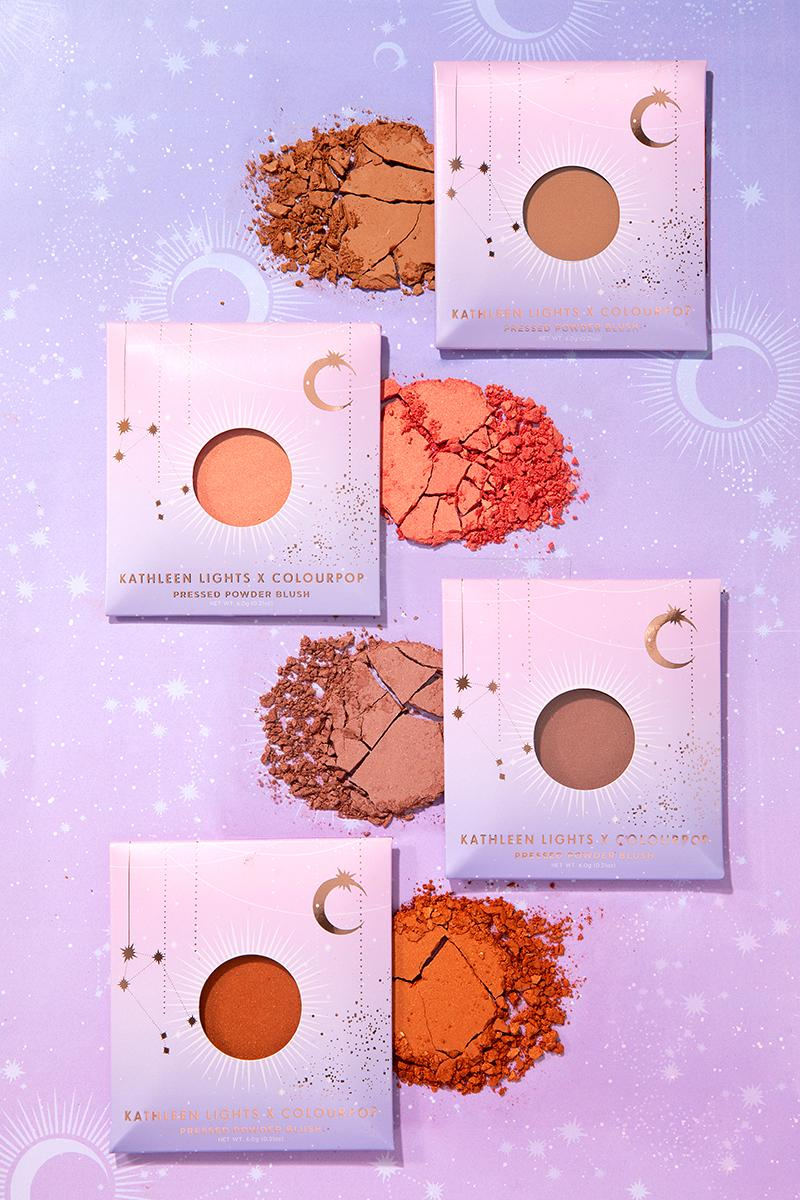 ColourPop Kathleen Lights Kathleenlights Zodiac Eyeshadow Single Compact Pressed Powder Blush