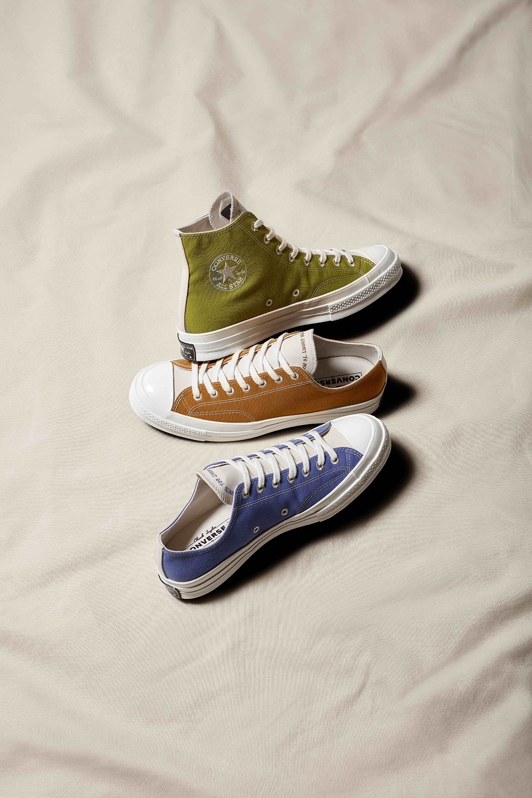 Converse Introduces Sustainable
