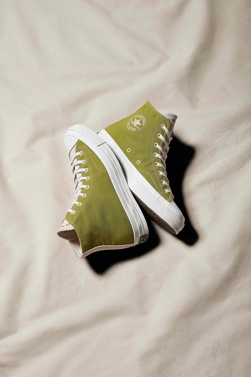 converse chuck taylor all star 70 sustainability ecofriendly biodegradable footwear
