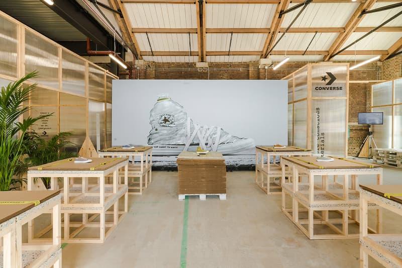 Converse Renew Sustainable Sneakers Trainers London Pop-Up Store Kings Cross Coal Drops Yard