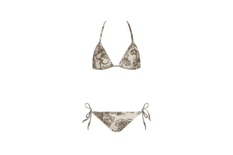 Dior Dioriviera Summer Beachwear Capsule Bikini Green White
