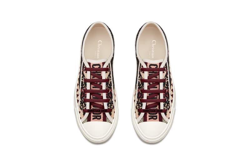 Dior Dioriviera Summer Beachwear Capsule Sneakers Maroon