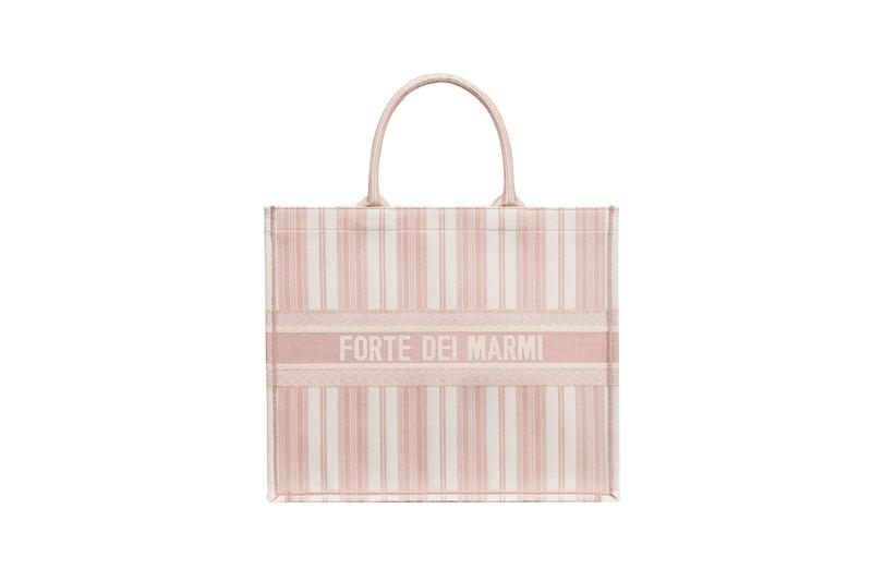 Dior Dioriviera Summer Beachwear Capsule Book Tote Pink