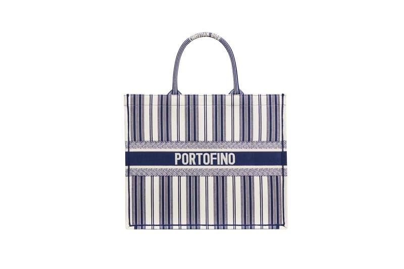 Dior Dioriviera Summer Beachwear Capsule Book Tote Blue