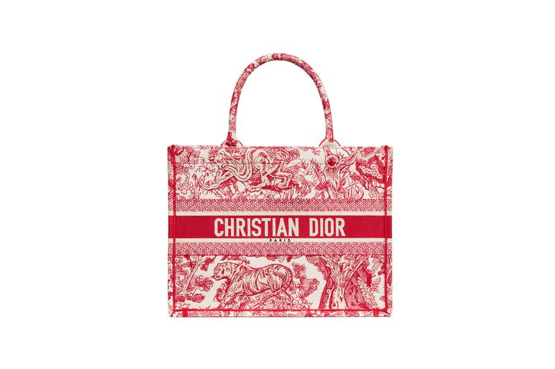 Dior Dioriviera Summer Beachwear Capsule Book Tote Red