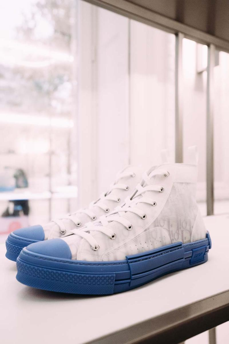dior menswear kim jones paris rimowa collaboration yoon ambush daniel arsham sneaker trainers saddle bag
