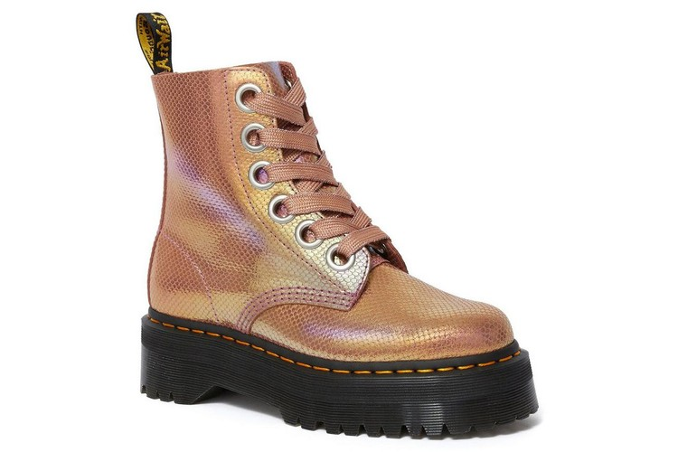 31a8f609ac35 Dr. Martens' Pink Iridescent Boots Will Steal the Show This Festival Season