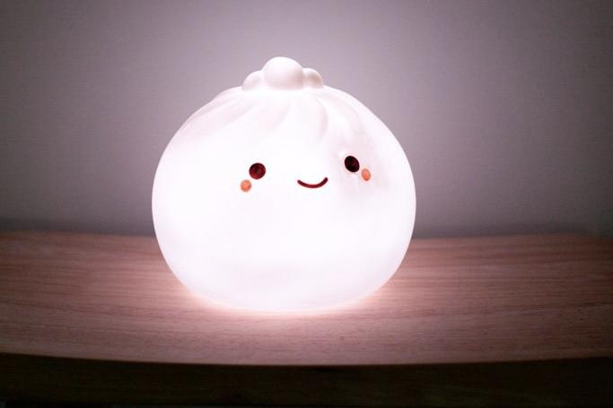 SMOKO Giant Dumpling Bao Lamp Light-Up Cute Interior Sizes Small Large Pre-Order Now Adorable
