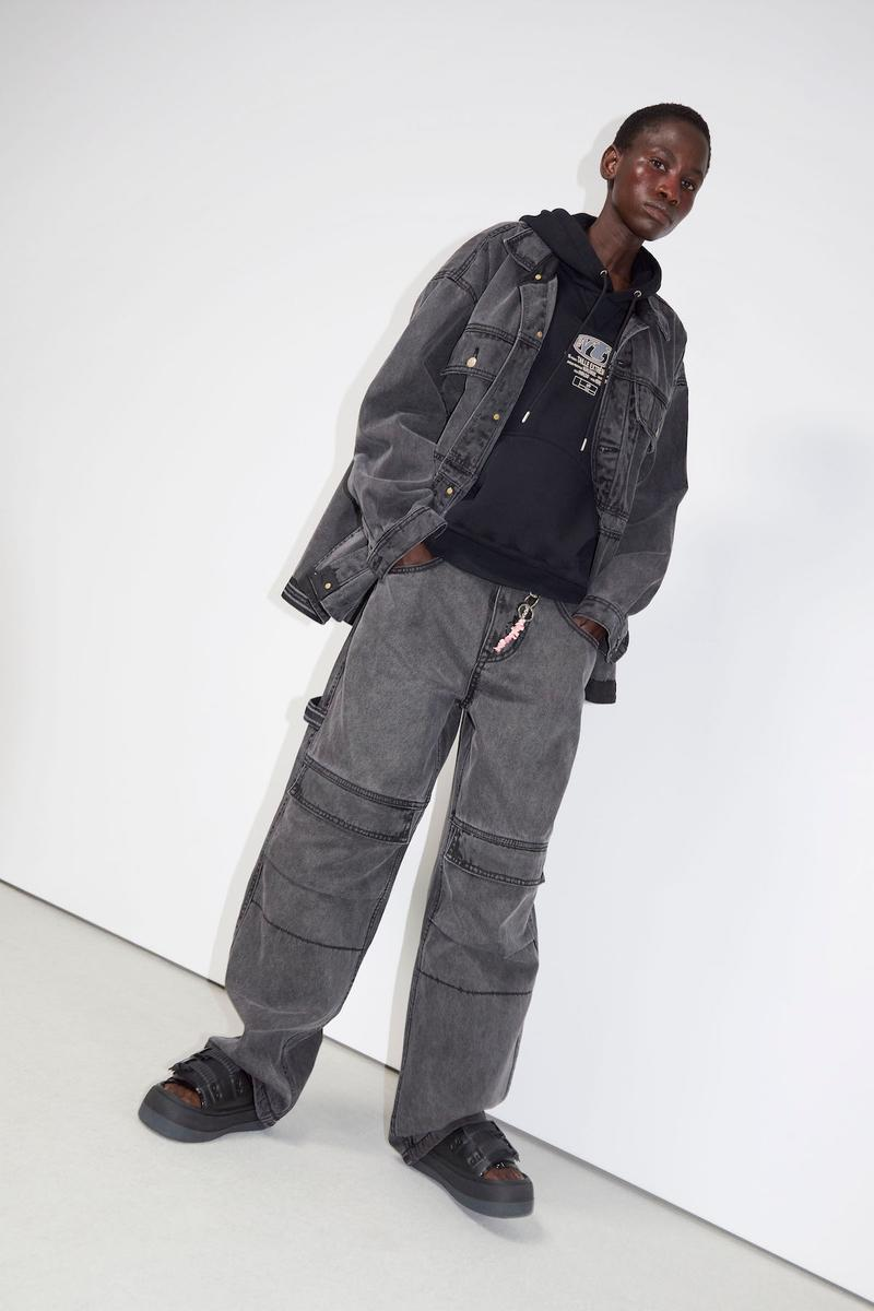 Eytys Spring/Summer 2020 Collection Lookbook Release Sneaker Angel Shoe Chunky Cowboy Boot Retro Inspired Denim Leather Jacket