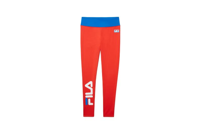FILA x Pepsi Capsule Collection Leggings Red