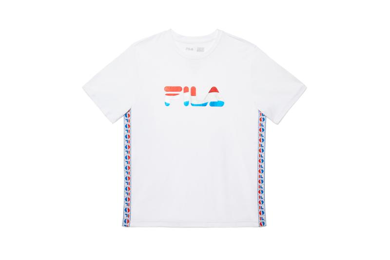 FILA x Pepsi Capsule Collection T Shirt White