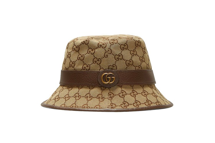 6459370d This Gucci Monogram Bucket Hat Is About to Be Summer's Hottest Accessory