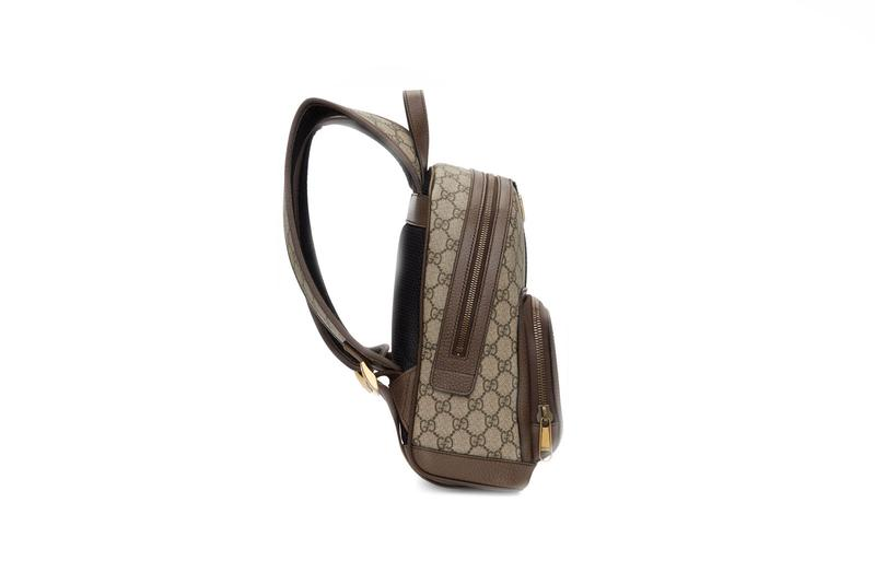 Gucci GG Ophidia Backpack Beige Small Monogram