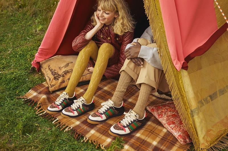 Screener, Leopard Print Sneaker