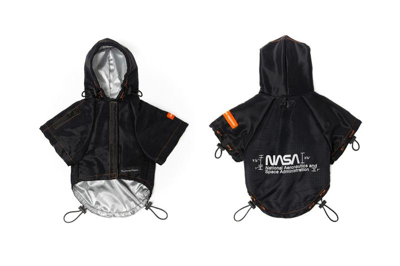 Very Important Puppies x Heron Preston NASA Collaboration Windbreaker Black