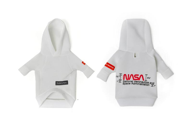 Very Important Puppies x Heron Preston NASA Collaboration Hoodie Grey