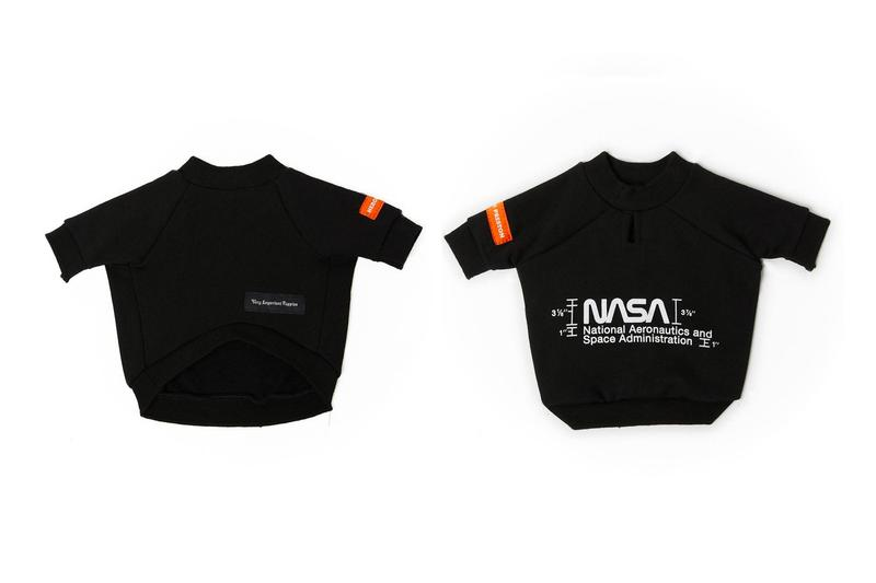 Very Important Puppies x Heron Preston NASA Collaboration Shirt Blacl