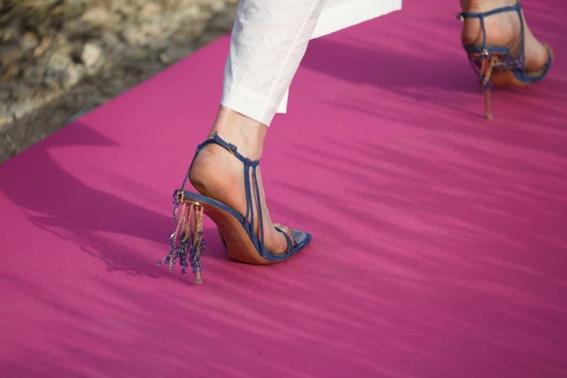 jacquemus simon porte swarovski crystals collection france valensole paris fashion week mens womens