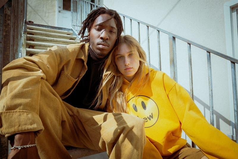 Drew House Lookbook Hoodie Yellow Corduroy Jacket Pants Tan
