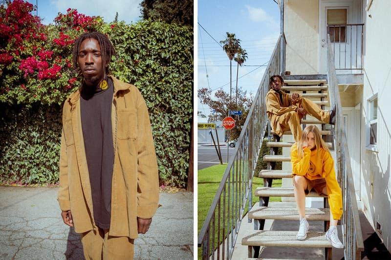 Drew House Lookbook Jacket Tan Hoodie Pants Yellow