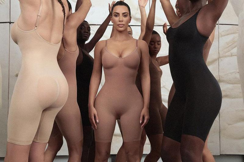 Kim Kardashian Launches Shapewear Label Kimono Underwear Nudes Skin Collection Body Announcement Reveal Solutionwear