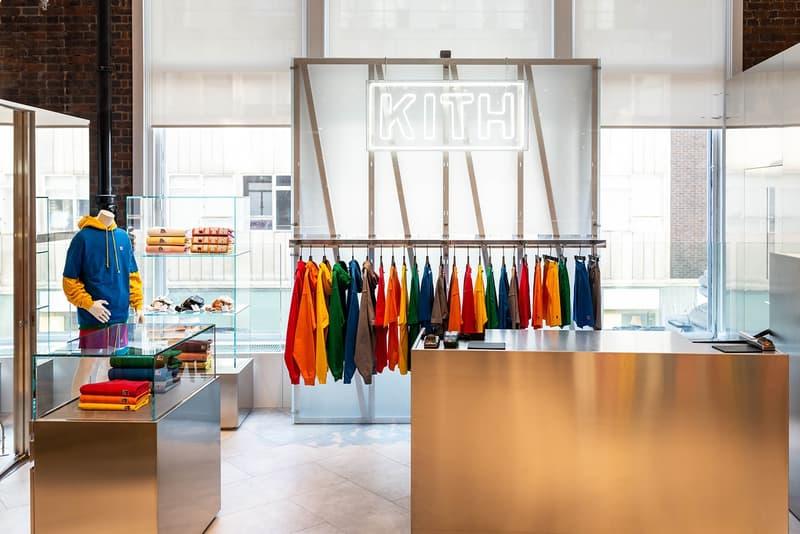 kith paris france flagship international footwear ronnie fieg