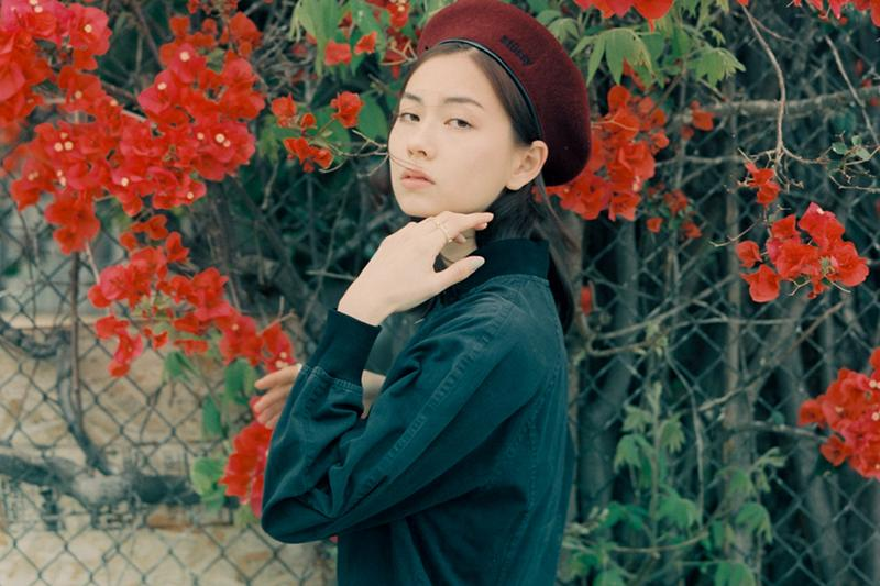 Lauren Tsai Stussy Beret Hat Vintage Film Photography Editorial Terrace House Aloha State Model Illustrator Actor Actress