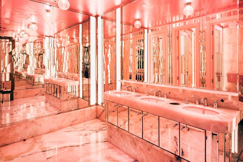 Most Instagrammable Instagram Bathroom Locations Restrooms Toilets London Sketch Annabel's Restaurant Ours Hoxton Holborn The Ned Brasserie of light selfridges