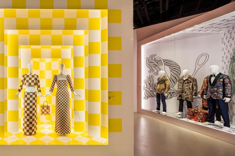 Louis Vuitton X Exhibition Los Angeles Room White Virgil Abloh Clothing