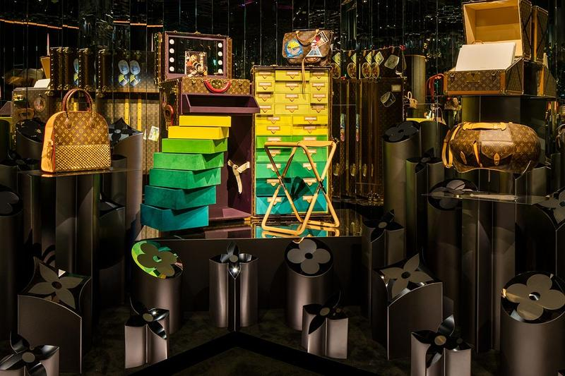 Louis Vuitton X Exhibition Los Angeles Objets Nomades Room Brown