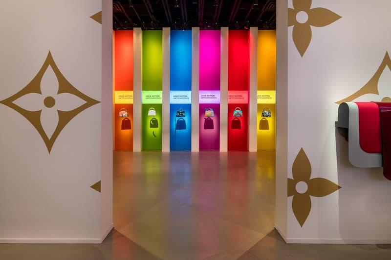 Louis Vuitton X Exhibition Los Angeles Monogram Room White Gold