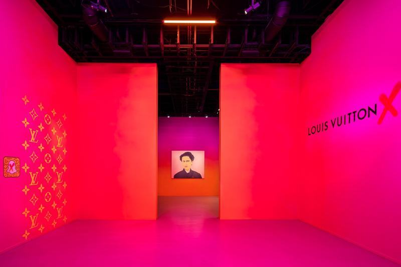 Louis Vuitton X Exhibition Los Angeles Room Pink