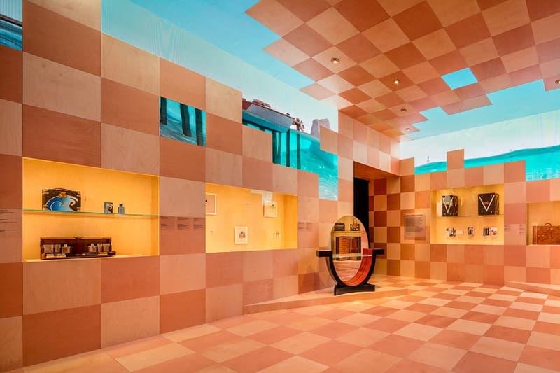 Louis Vuitton X Exhibition Los Angeles Room Orange