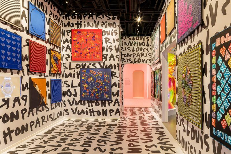 Louis Vuitton X Exhibition Los Angeles Stephen Sprouse Room Graffiti