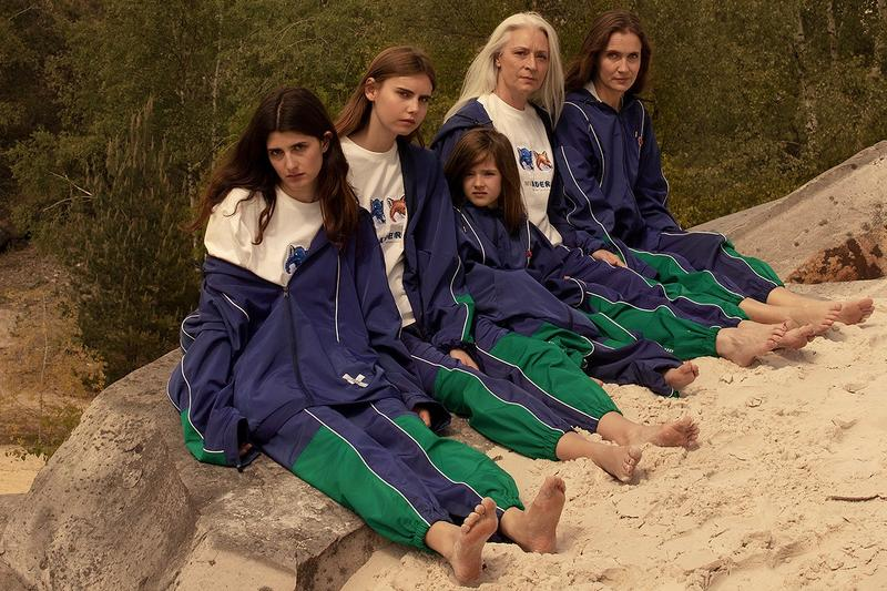 "Maison Kitsune x ADER error ""Blue Fox Family"" Collection"